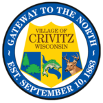 Village of Crivitz, Wisconsin, northwoods, gateway to the north