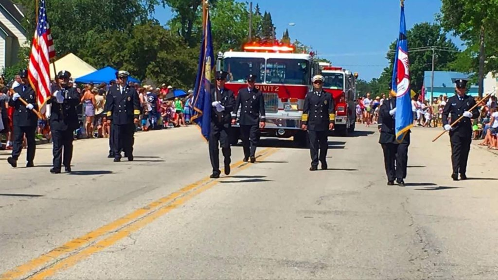 crivitz fire department,parade